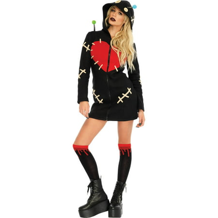 Leg Avenue Womens Cozy Voodoo Doll Costume - Voodoo Costume