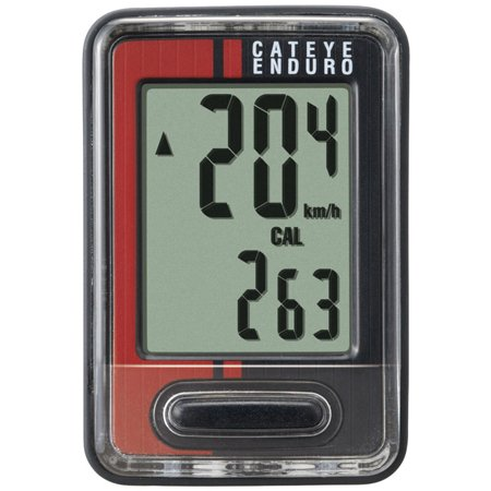 Cateye Enduro CC-ED400 Computer Black/Red