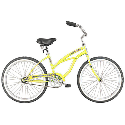 "26"" Micargi Pantera Women's Beach Cruiser Bike, Vanilla"