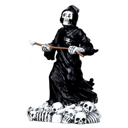 Halloween Party Decor Cape Town (Lemax Spooky Town Halloween Deadly Grim Reaper)