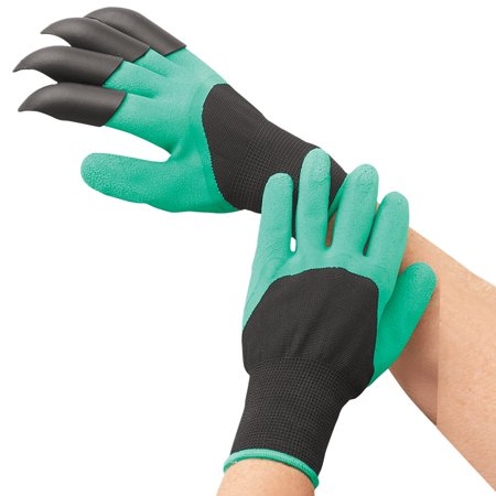 Garden Genie Gardening Gloves with Claws on Right Hand, Right