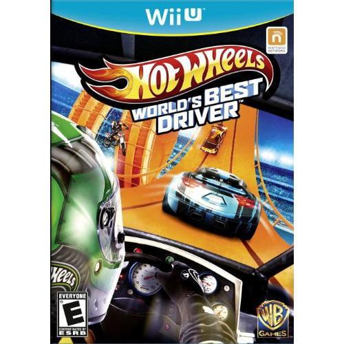 Wb Hot Wheels: World's Best Driver - Racing Game - Wii U (1000425209)