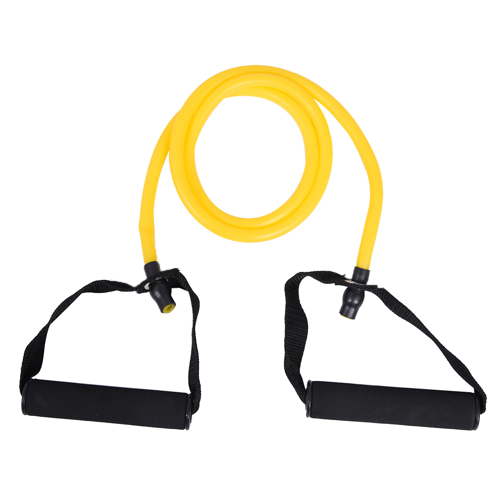 Exercise Bands With Handles Walmart: Exercise Cord Tube Band With Handles Resistance Band