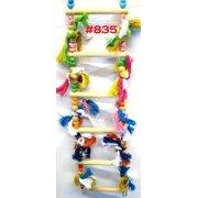 Bonka Bird Toys 835 Six Step Ladder Swing Bird Toy.