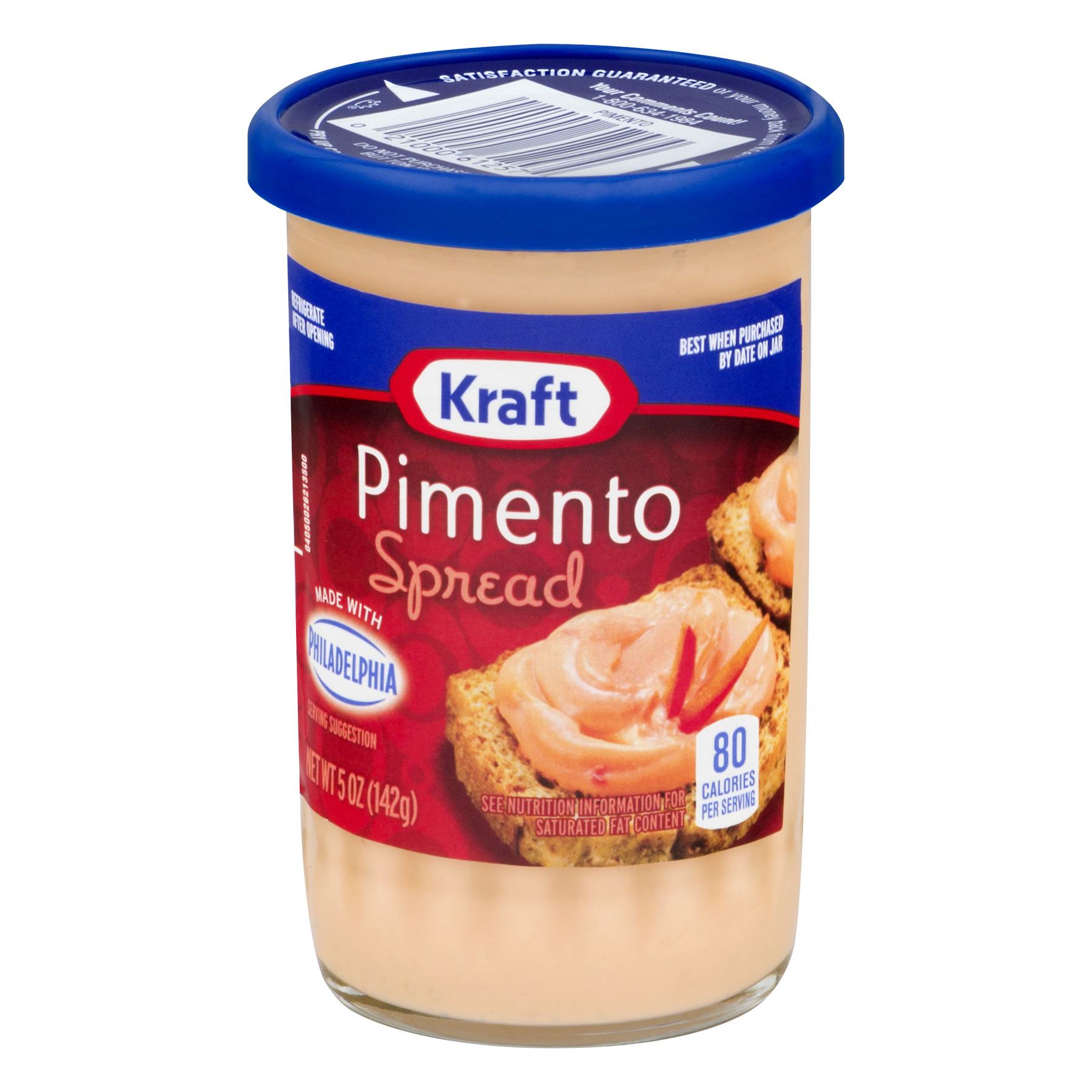 (2 Pack) Kraft Pimento Spread, 5 oz Jar