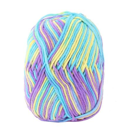 Birthday Gift Cotton Blends Handmade Crochet Scarf Gloves Knitting Yarn Cord
