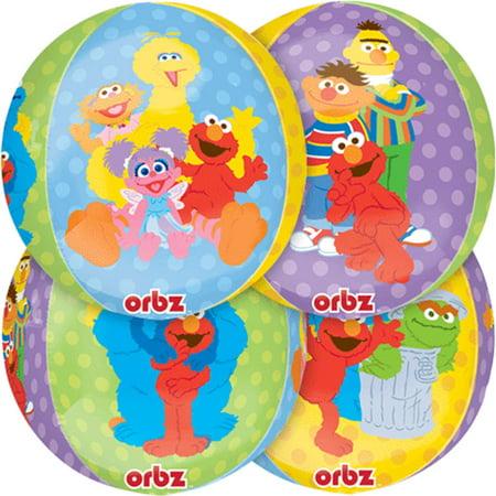 Elmo Sesame Street Orbz Balloon 16