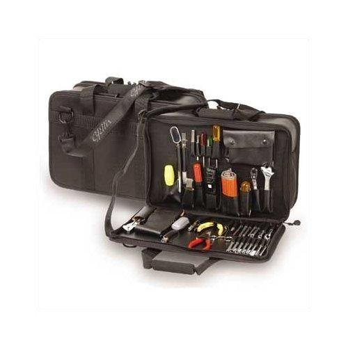 CH Ellis 680 Large Capacity Triple Section Zipper Case