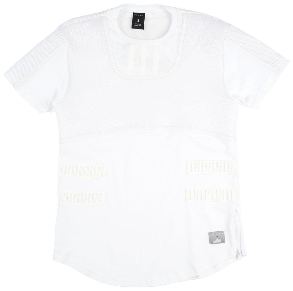 Krome Sneaker Inspired T-Shirt Hoodie Mens White