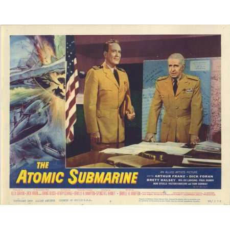 Atomic Submarine POSTER Movie G Mini Promo