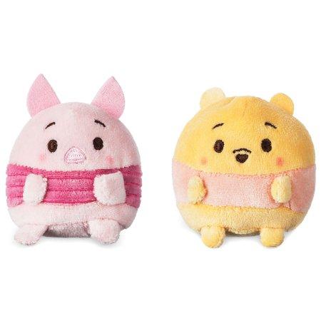 Disney Ufufy Winnie the Pooh & Piglet Mini Scented Plush (Winnie The Pooh And Friends Stuffed Animals)