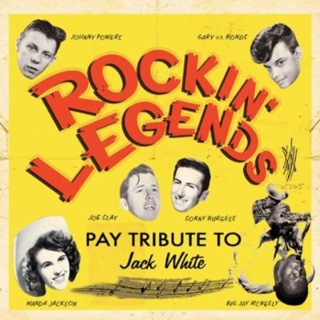 Rockin Legends Pay Tribute to Jack White /