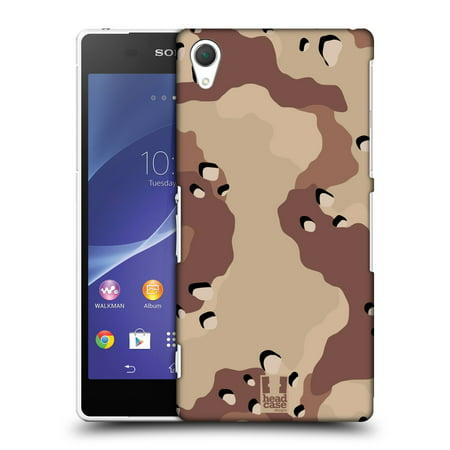 HEAD CASE DESIGNS MILITARY CAMO HARD BACK CASE FOR SONY PHONES 2