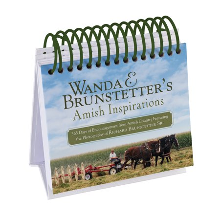 Wanda E. Brunstetter's Amish Inspirations : 365 Days of Encouragement from Amish Country Featuring the Photography of Richard Brunstetter Sr. (Amish Country Oak)