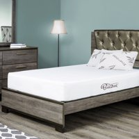 BEST 2 REST Plush Memory Foam Mattress Full 8 Inch, With Cool Gel, Made In USA