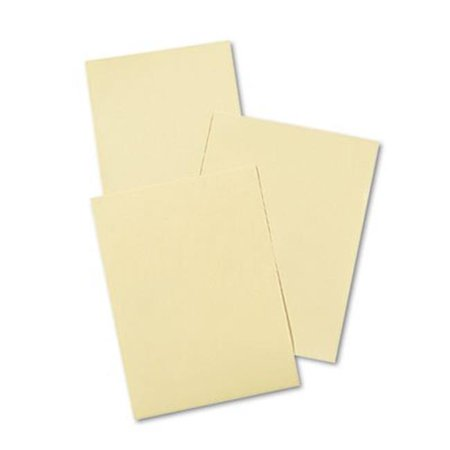 Cream Manila Drawing Paper  50 lbs.  9 x 12  500 Sheets-Pack