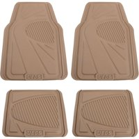 JEGS Performance Products 70822 Rubber Floor Mats Beige