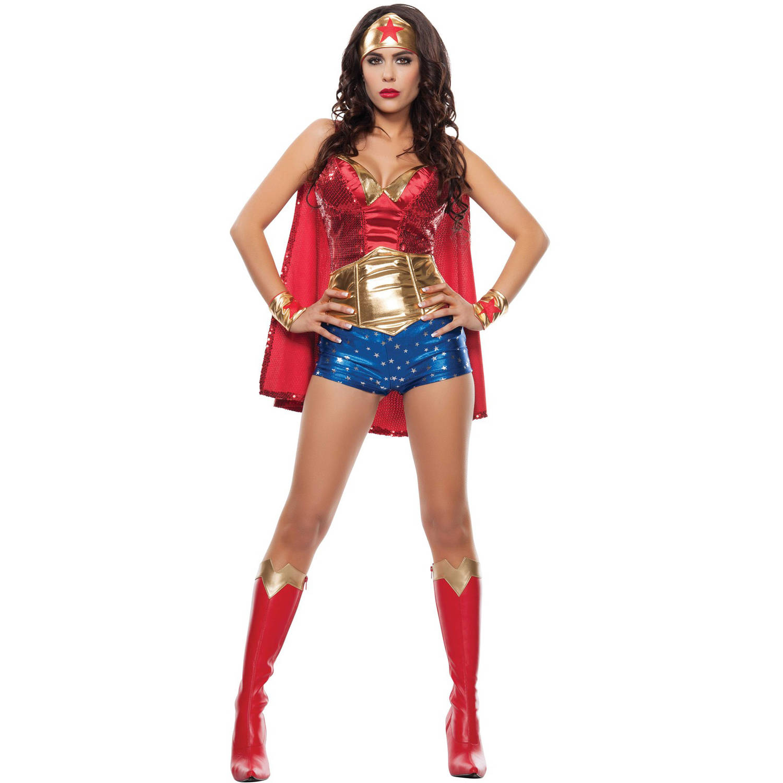 Wonder Woman Women's Adult Halloween Costume
