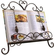 HGC Antique Metal Cookbook Stand