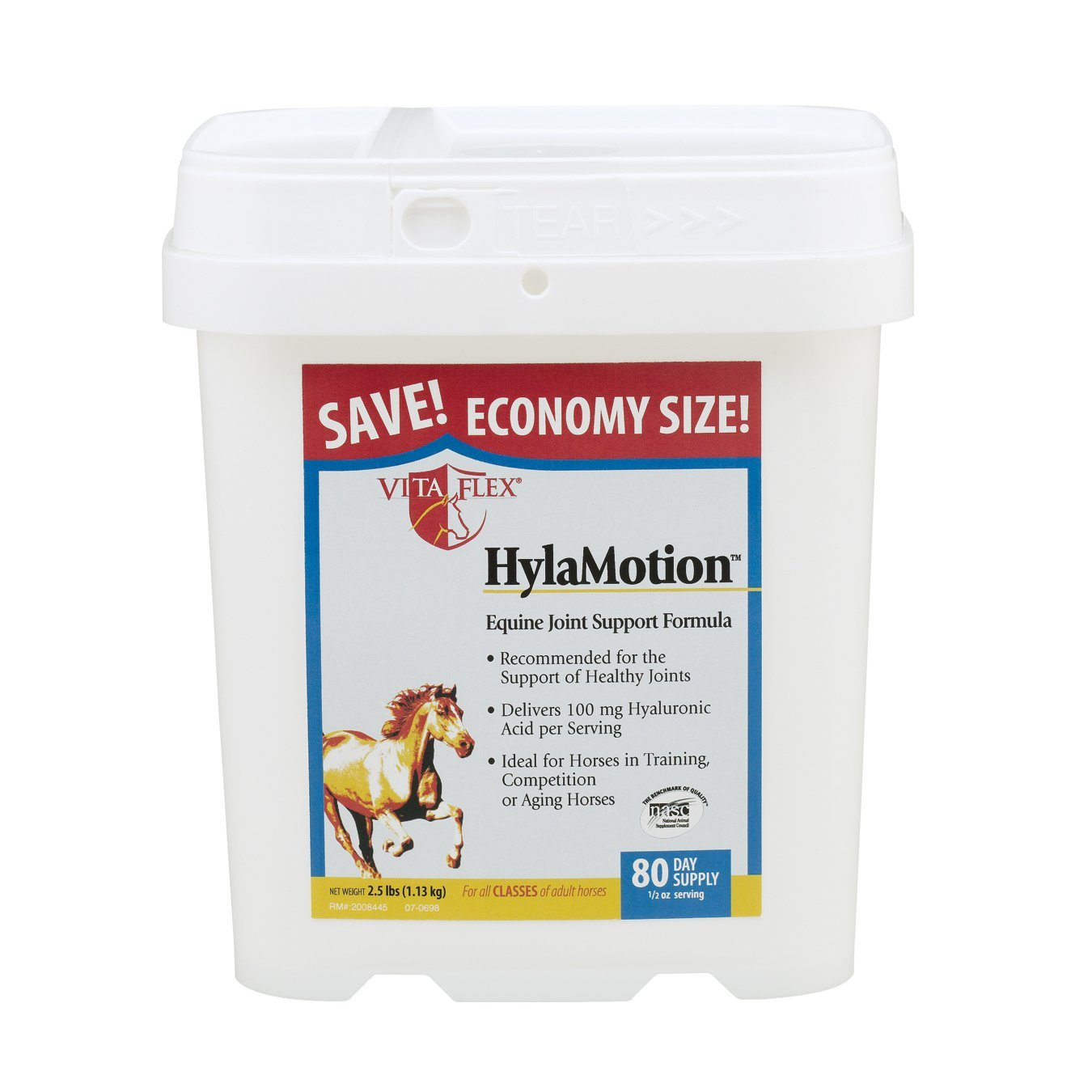 HylaMotion, Easy-to-give, palatable alfalfa-based powder delivers 100 mg HA per serving By Vita Flex