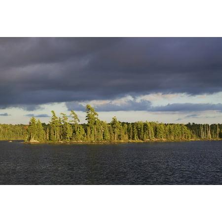 Canvas Print Minnesota Bwca Lake Boundary Waters Stretched Canvas 10 x