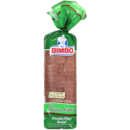 Bimbo Double Fiber Bread, 26.4 oz