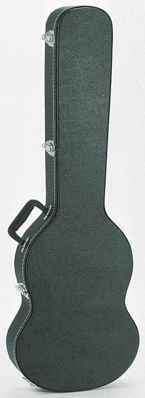 TKL Premier Double Cutaway Electric Guitar Case Black by TKL