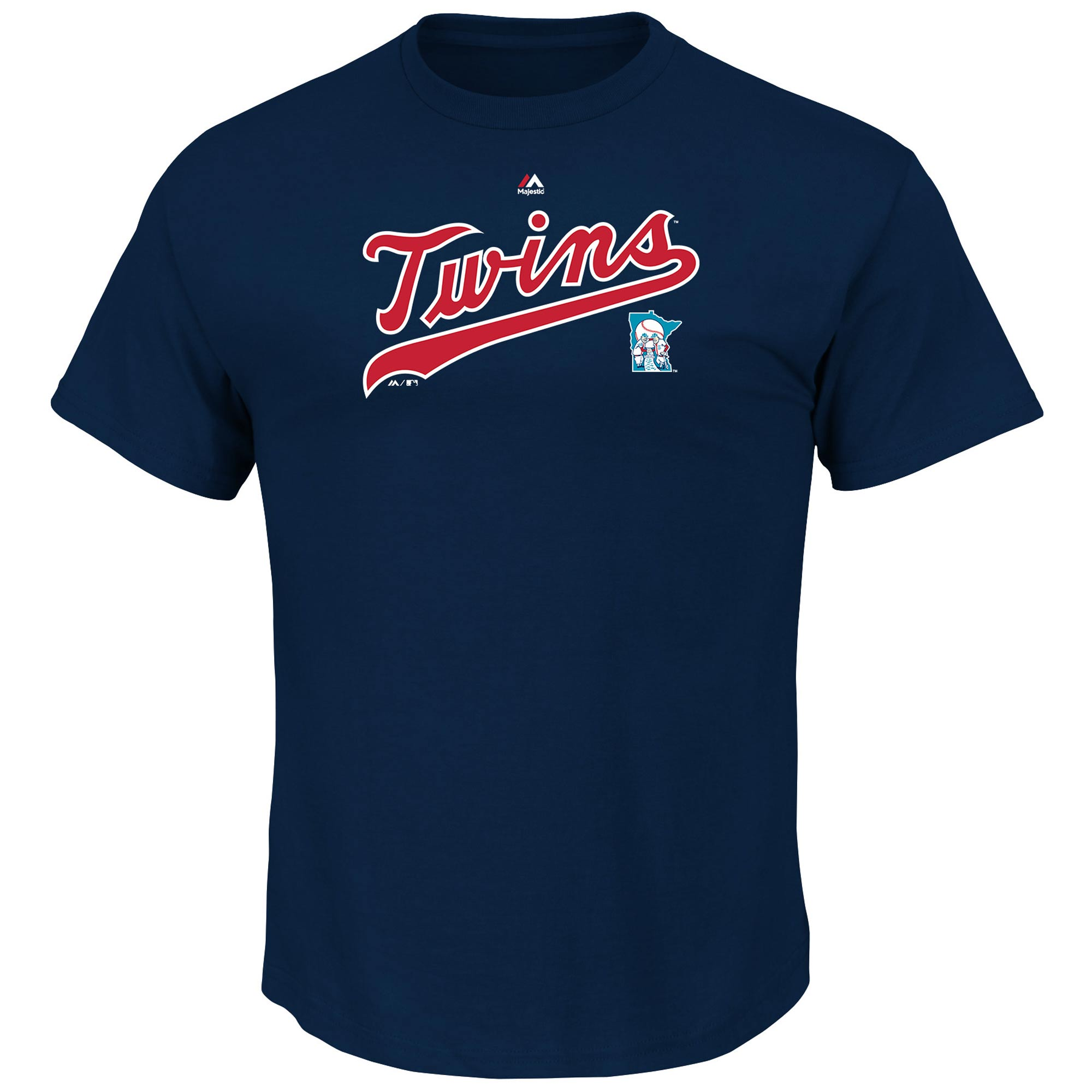 Minnesota Twins Majestic Cooperstown Series Sweep T-Shirt - Navy