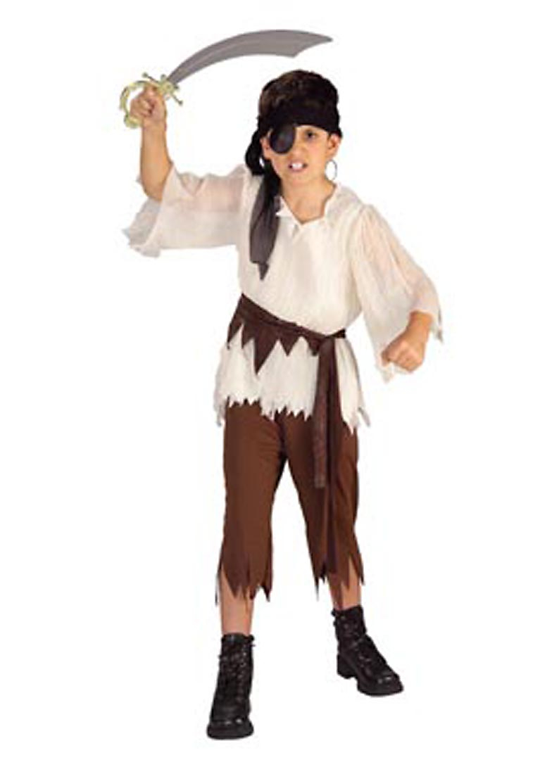 Child Caribbean Pirate Standard Costume Rubies 881933 by Rubies
