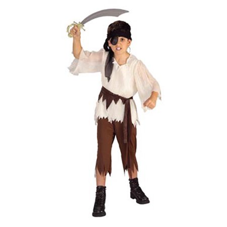 Child Caribbean Pirate Standard Costume Rubies 881933 - Kids Pirate Costume Ideas