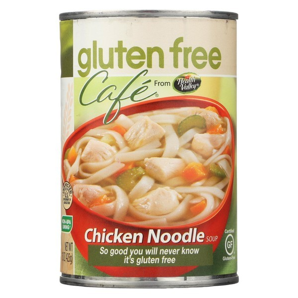 Gluten Free Caf Noodle Soup - Chicken - Pack of 12 - 15 Oz.