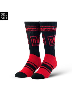 Official WWE Authentic nWo Wolfpac Odd Sox Black 6-12