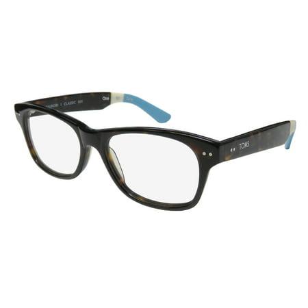 8540834d7f New Toms Nairobi Classic 601 Mens Womens Designer Full-Rim Tortoise    Multicolor Plastic Temples Hot Frame Demo Lenses 53-17-140  Eyeglasses Eyewear ...