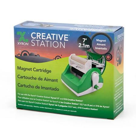 Xyron 850 Laminate - Xyron Creative Station 5 inch Magnet Laminate Refill - 7 feet