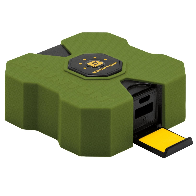 Brunton Revolt XL 9000 mAh, 6x Charge - Outdoor Green