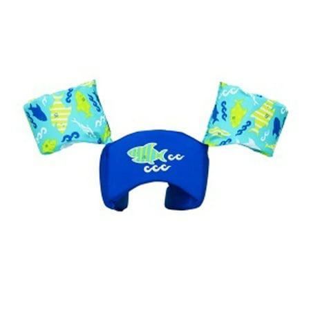 SwimWays 6039168 Sea Squirts Swim Trainer Life Jacket Kids Pool Float, Shark (Shrek Vest)
