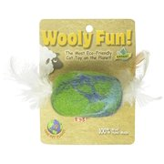 One Pet Planet Wooly Fun Feather Barrel-Large
