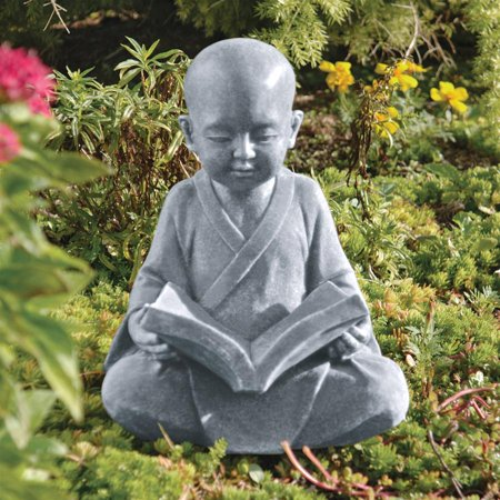 Design Toscano Baby Buddha Studying the Five Precepts (Virtues) Statue