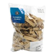 Business Source 15751 Rubber Bands, Size 84, 5 lb Bag, 3-1/2 x 1/2 , Natural