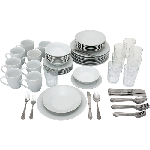 10 Strawberry Street 80-Piece Complete Dinnerware Set for 8