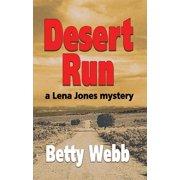 Lena Jones Mysteries: Desert Run (Paperback)