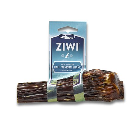 Deer Shank Dog Bone Treat, Half, Deer Shank Bones Come From Free-Range, Grass-Fed Deer On Traceable, Approved New Zealand Farms. By Ziwi