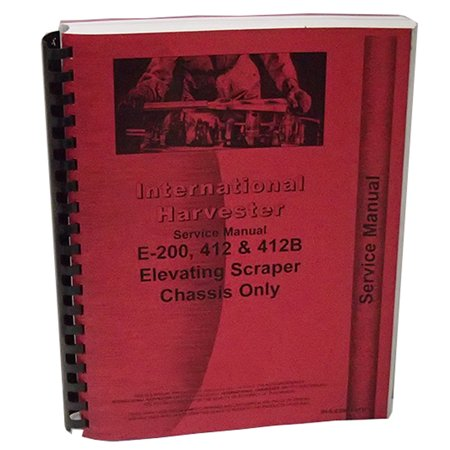 New International Harvester 412B Industrial Construction Chassis Service Manual