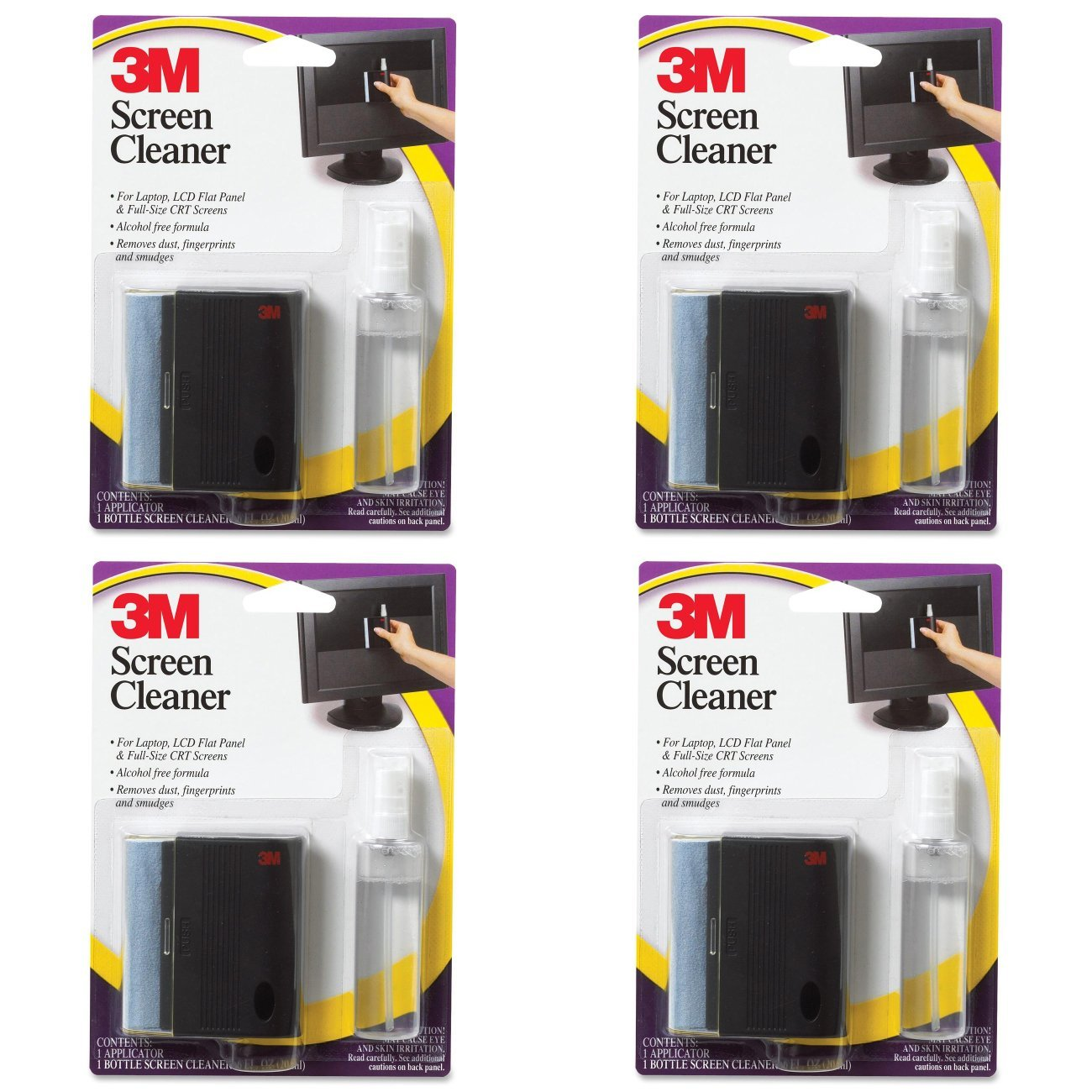 SCREEN CLEANER CL681; 3 IN X 2.75 IN x 1 IN [PRICE is per...
