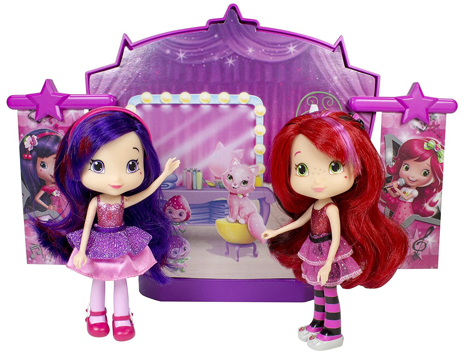 strawberry shortcake sweet beats stage playset with 2