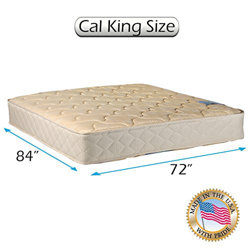 "Chiro Premier Orthopedic (Beige Color) California King size Mattress Only (72""x84""x9"") - Fully Assembled, Good for your back, Superior Quality, Long Lasting and 2 Sided - By Dream Solutions USA"
