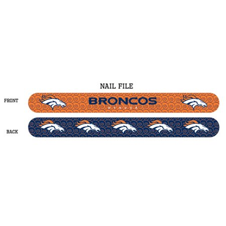 Denver Broncos Nail File - Denver Broncos Nail Designs