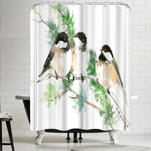 DENY Designs East Urban Home Suren Nersisyan Chickadees S...