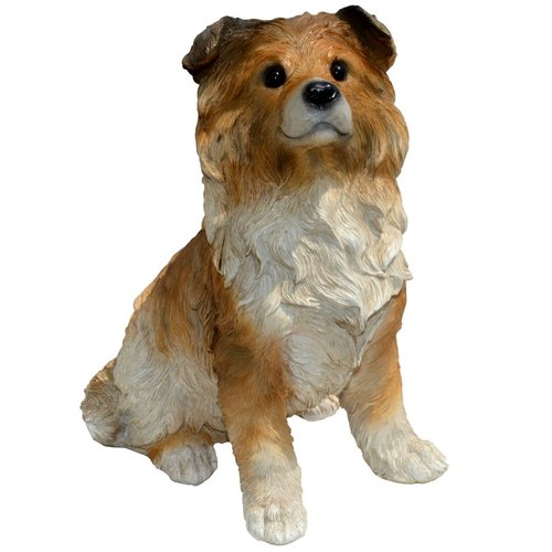 "Michael Carr 11.6"" Shepard Collie Puppy Statue, Large"