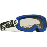 Scott Agent Mini Pee Wee MX Offroad Goggles Blue